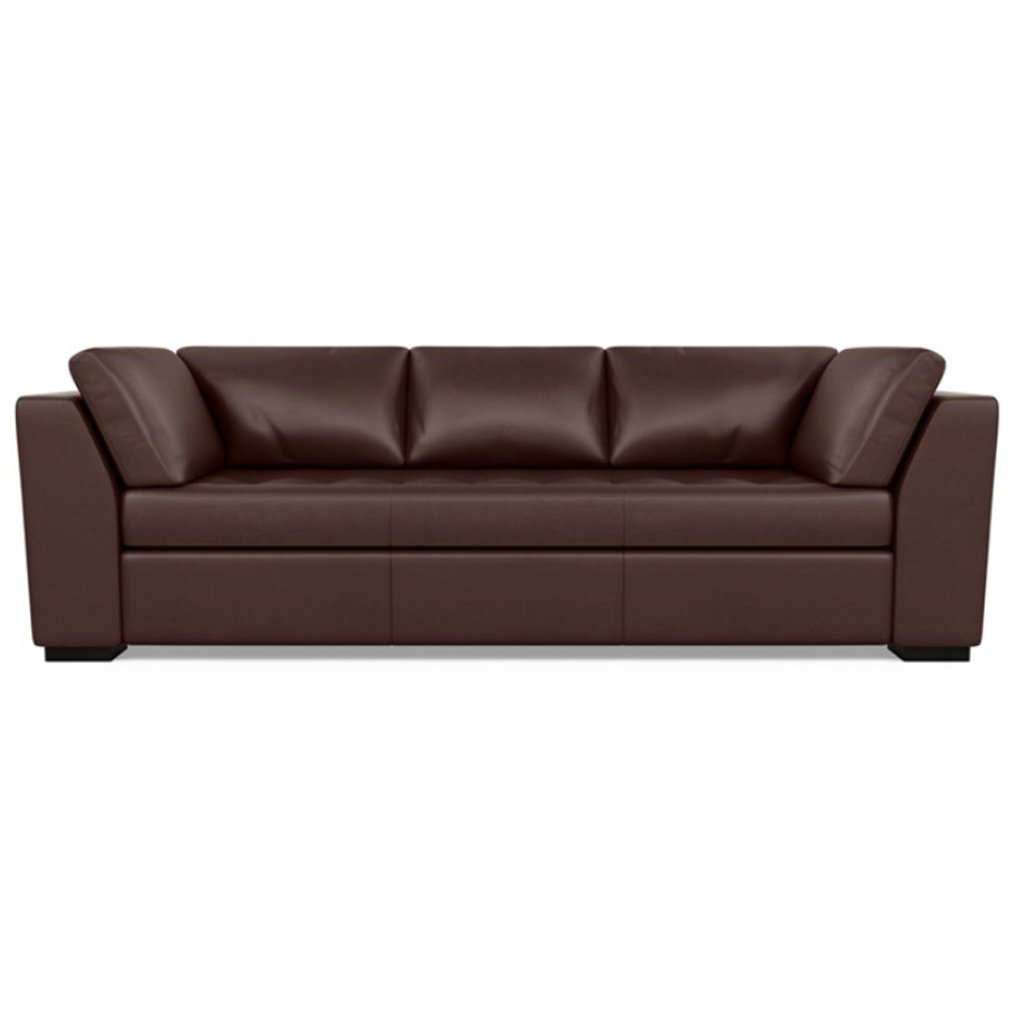 Astoria Leather Sofa Capri Russet by American Leather