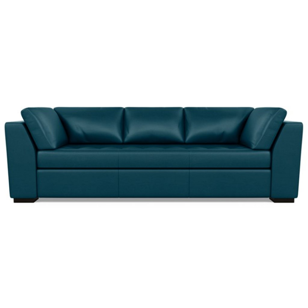 Astoria Leather Sofa Capri Shoreline by American Leather