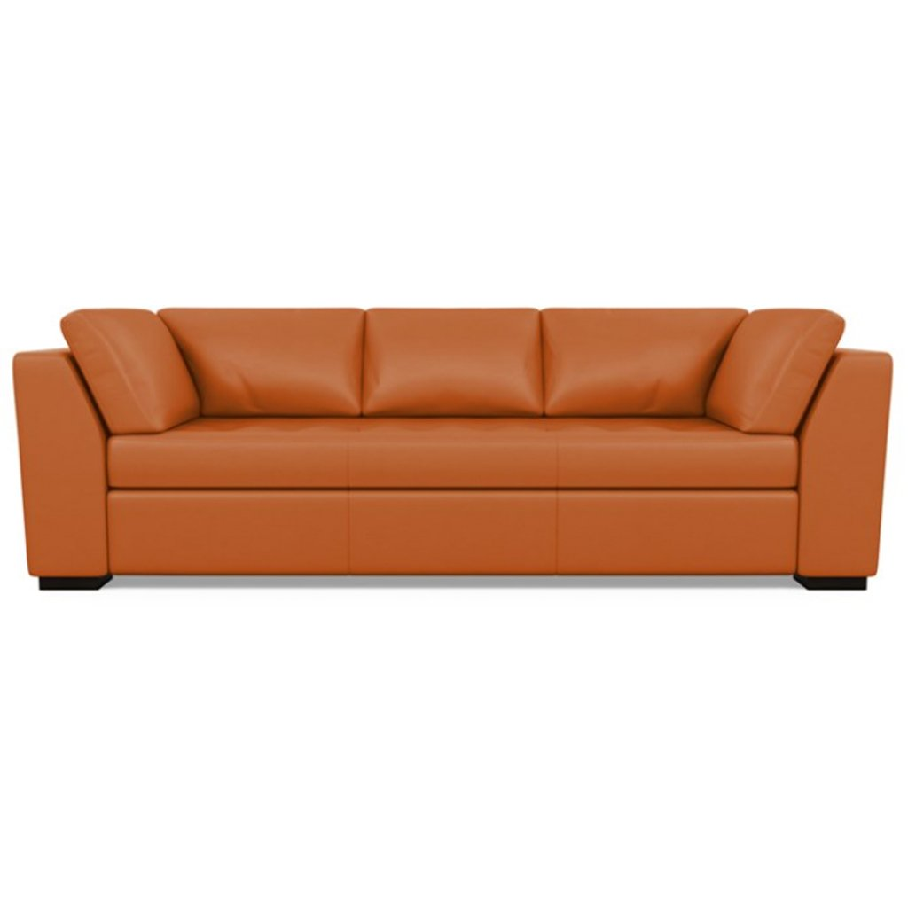 Astoria Leather Sofa Capri Sunrise by American Leather