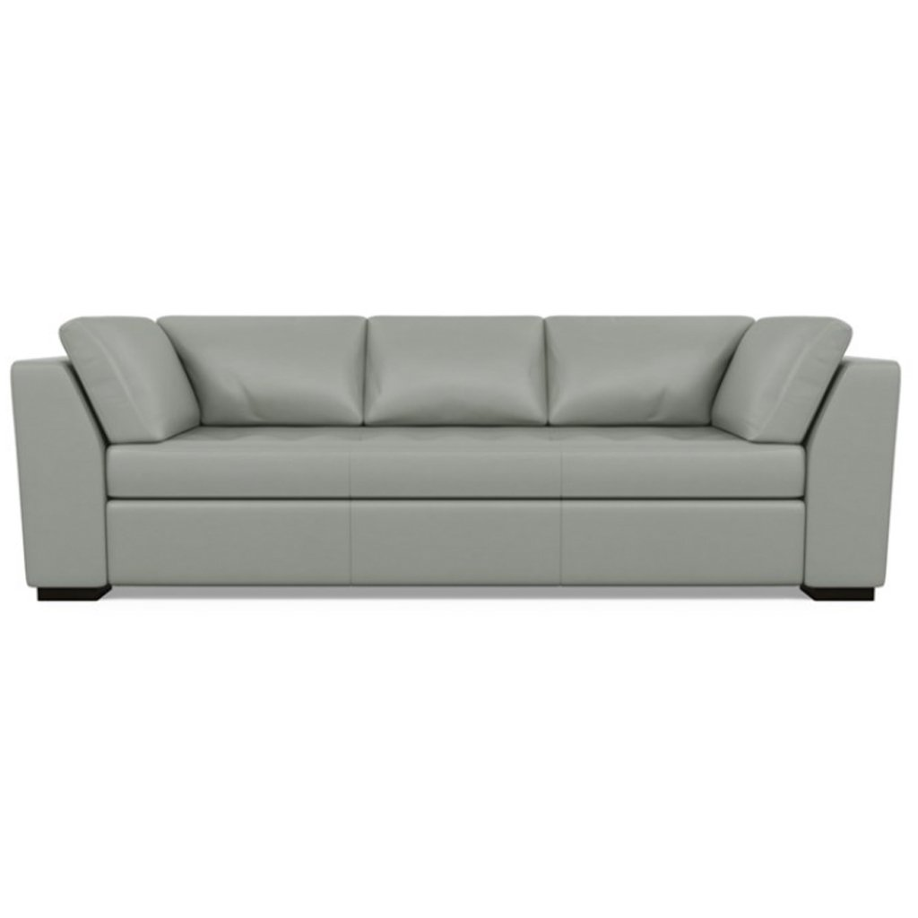 Astoria Leather Sofa Capri Thundercloud by American Leather