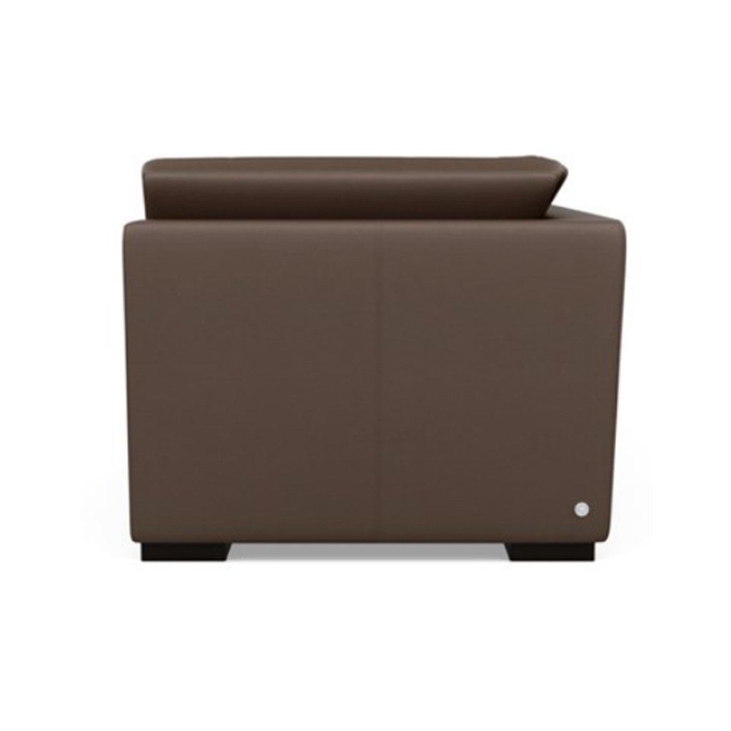 Astoria Leather Sofa Side View