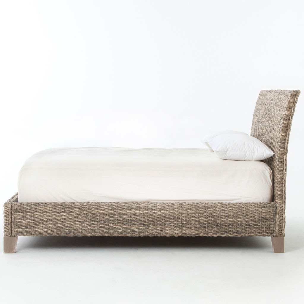 Banana Leaf Bed - Grey