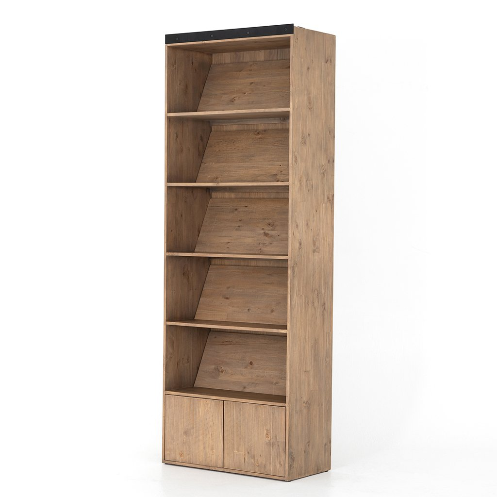 Bane Bookshelf without Ladder Profile View