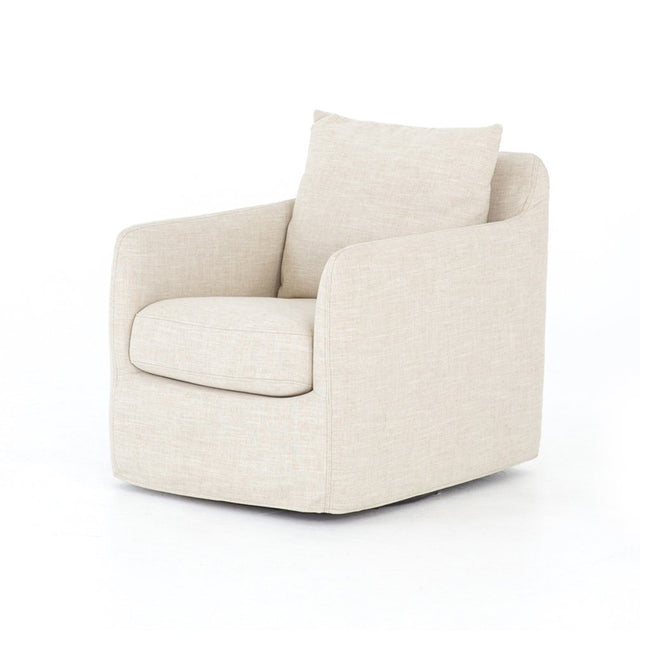 Banks Swivel Chair - Cambric Ivory CKEN-H6-087P