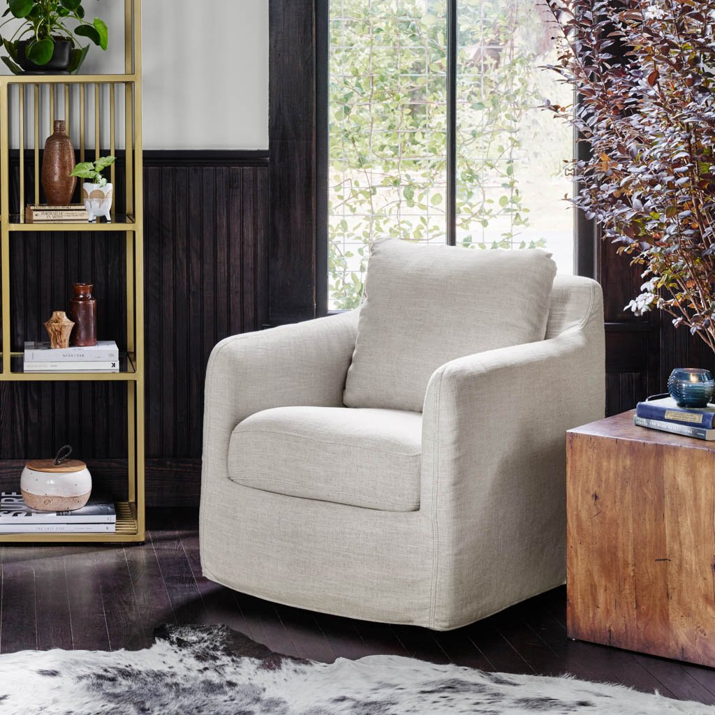 comfortable swivel accent chair