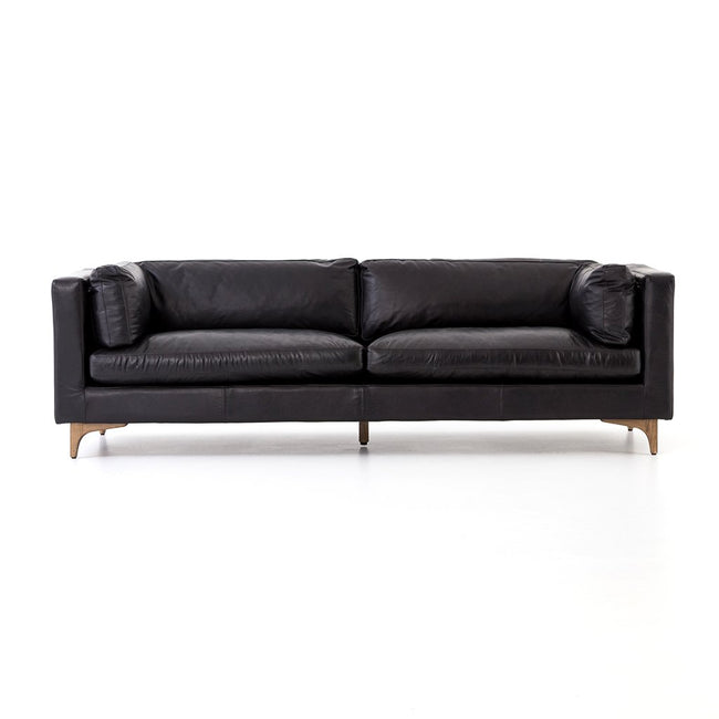 Four Hands Beckwith Sofa - Rider Black