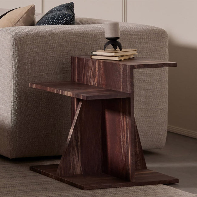Four Hands Blas End Table - Tumbled Rust