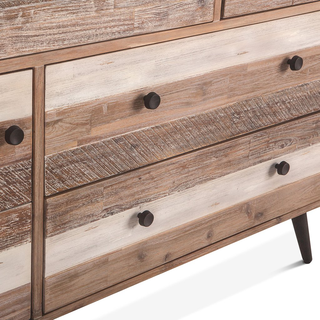 boardwalk distressed dresser