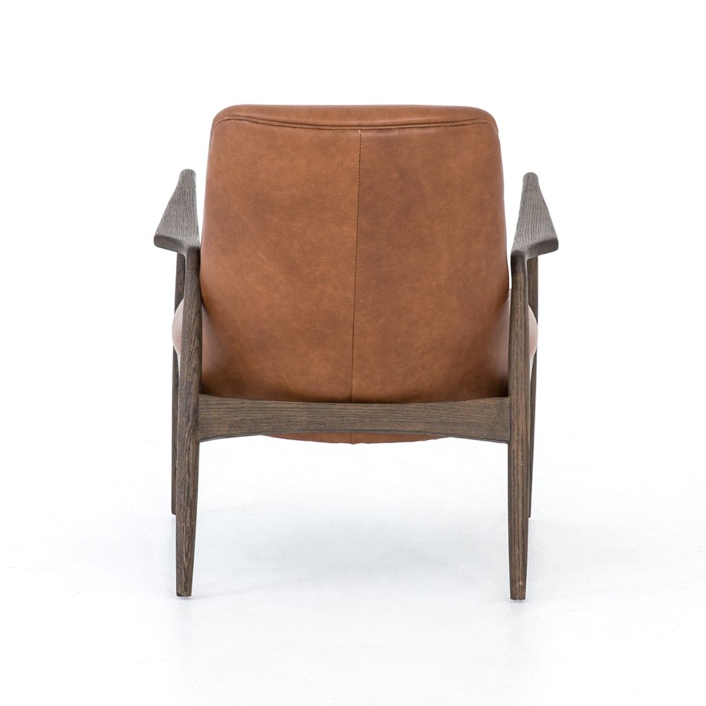 Braden Leather Chair - CASH-83J-253 Four Hands