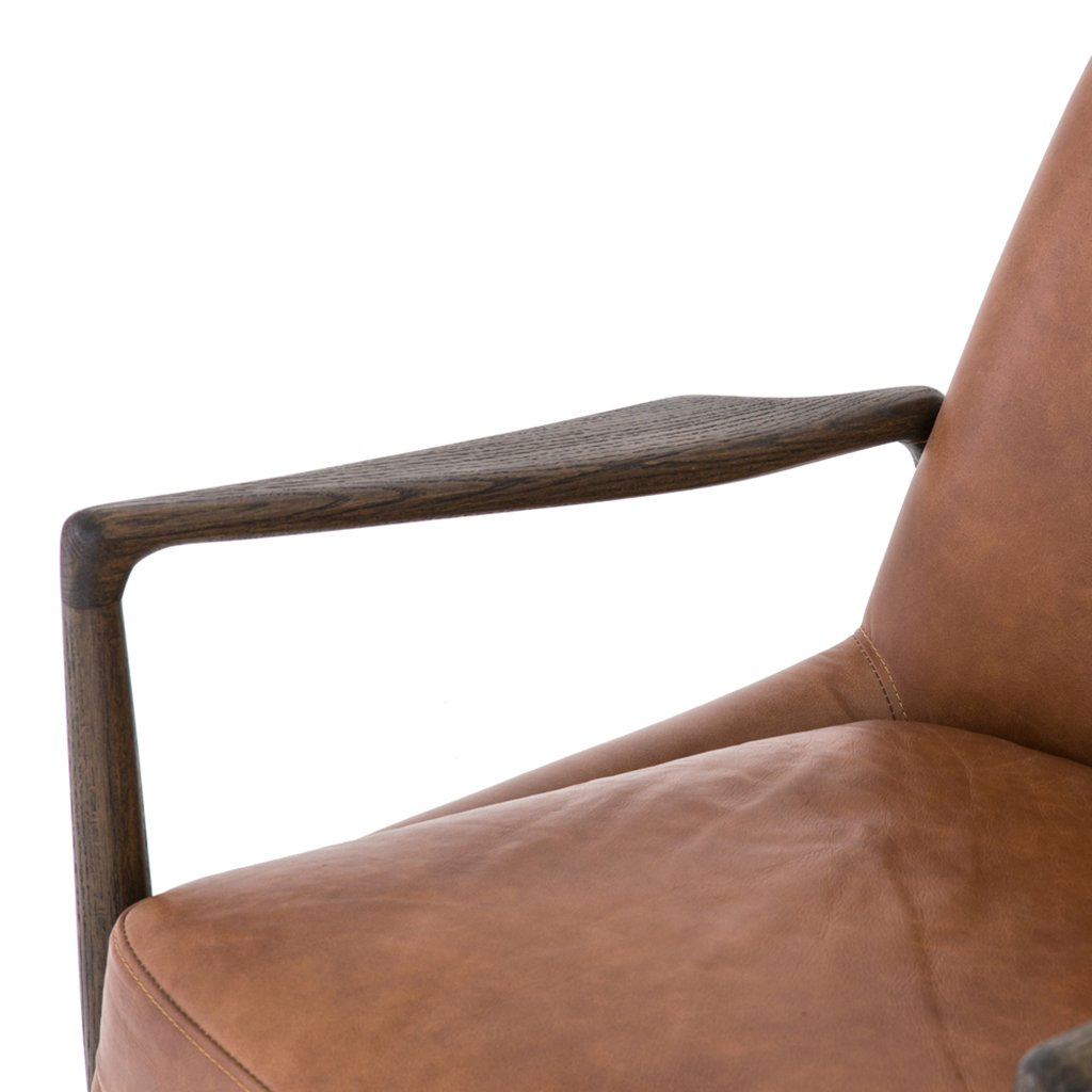 Braden Leather Accent Chair