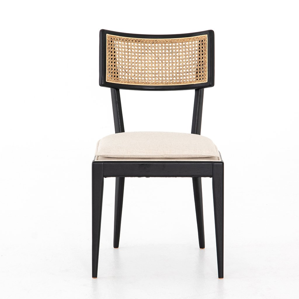 Wicker back Britt Dining Chair