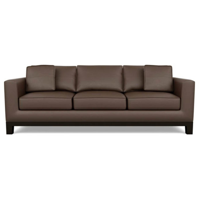 Brooke Leather Sofa by American Leather Bali Brandy