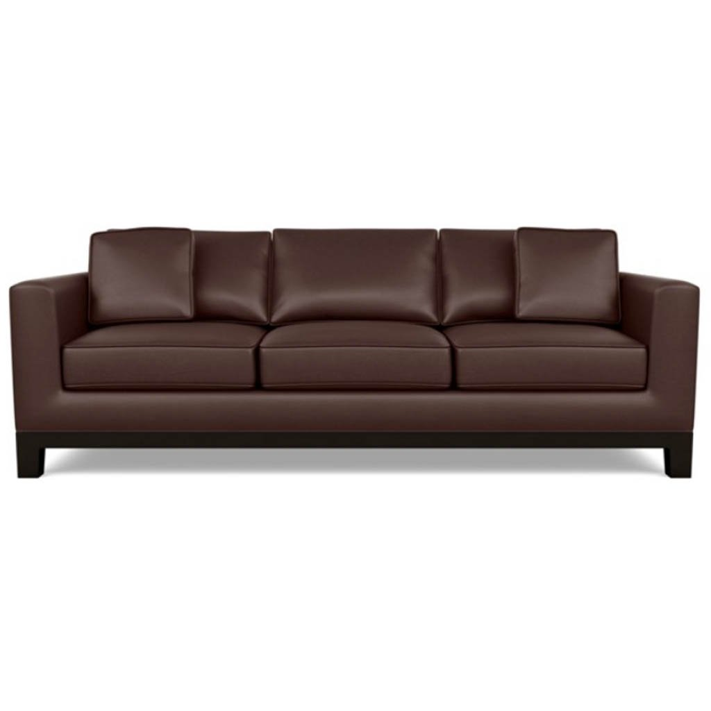 Brooke Leather Sofa by American Leather Capri Russet