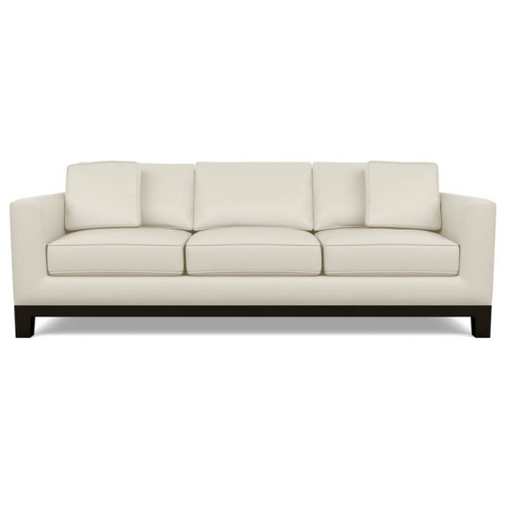 Brooke Leather Sofa by American Leather Capri Sand Dollar