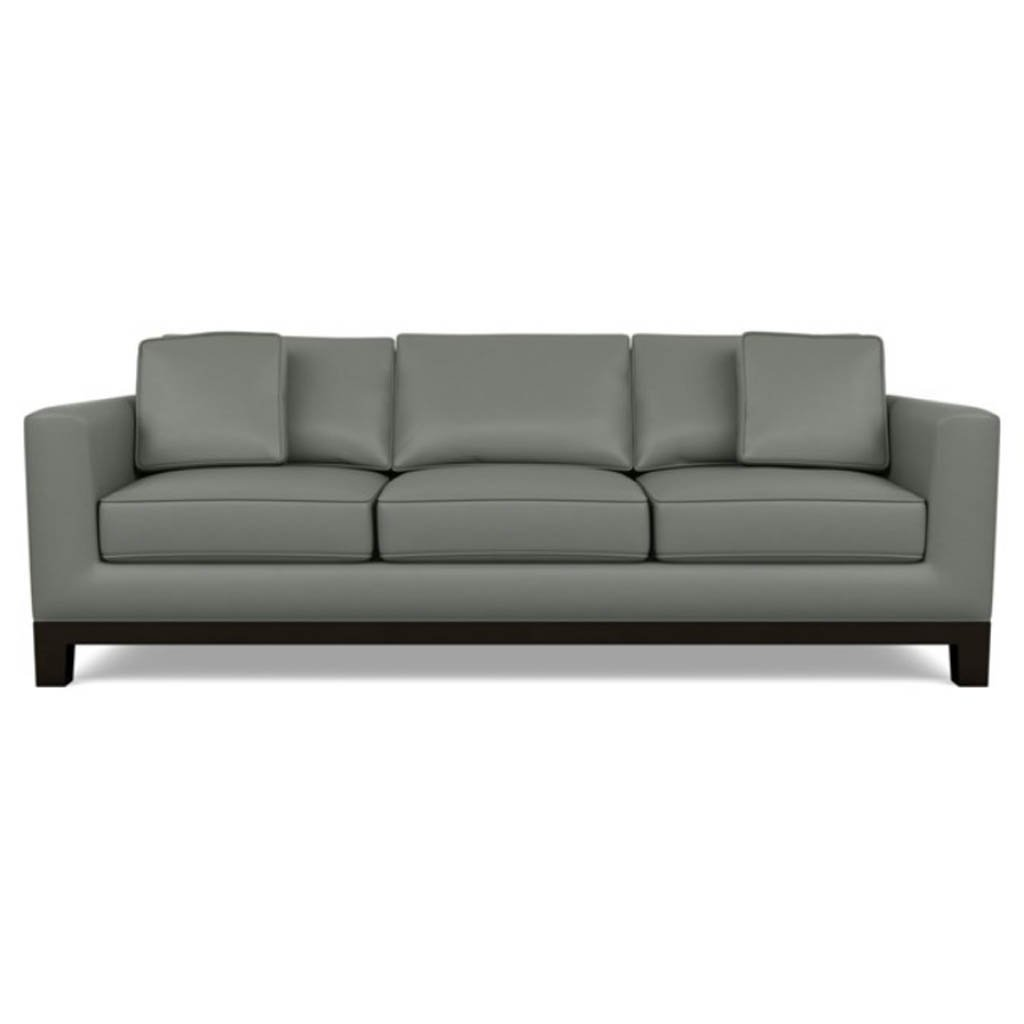 Brooke Leather Sofa by American Leather Capri Shadow