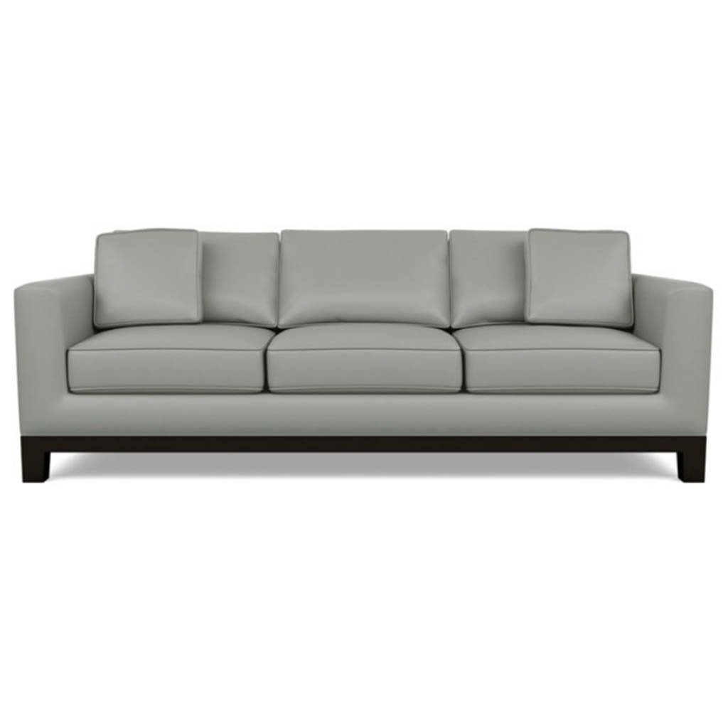 Brooke Leather Sofa by American Leather Capri Thundercloud