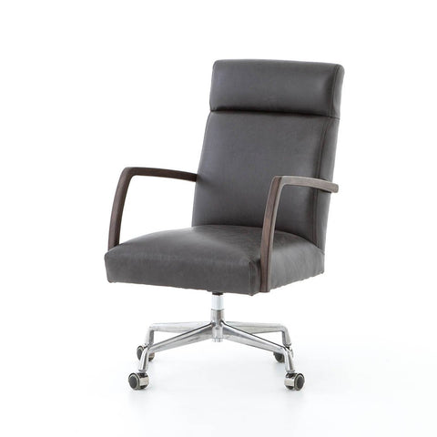 Malibu Desk Chair - Rider Black