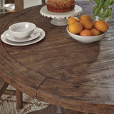 Caleb Round Dining Table Detail