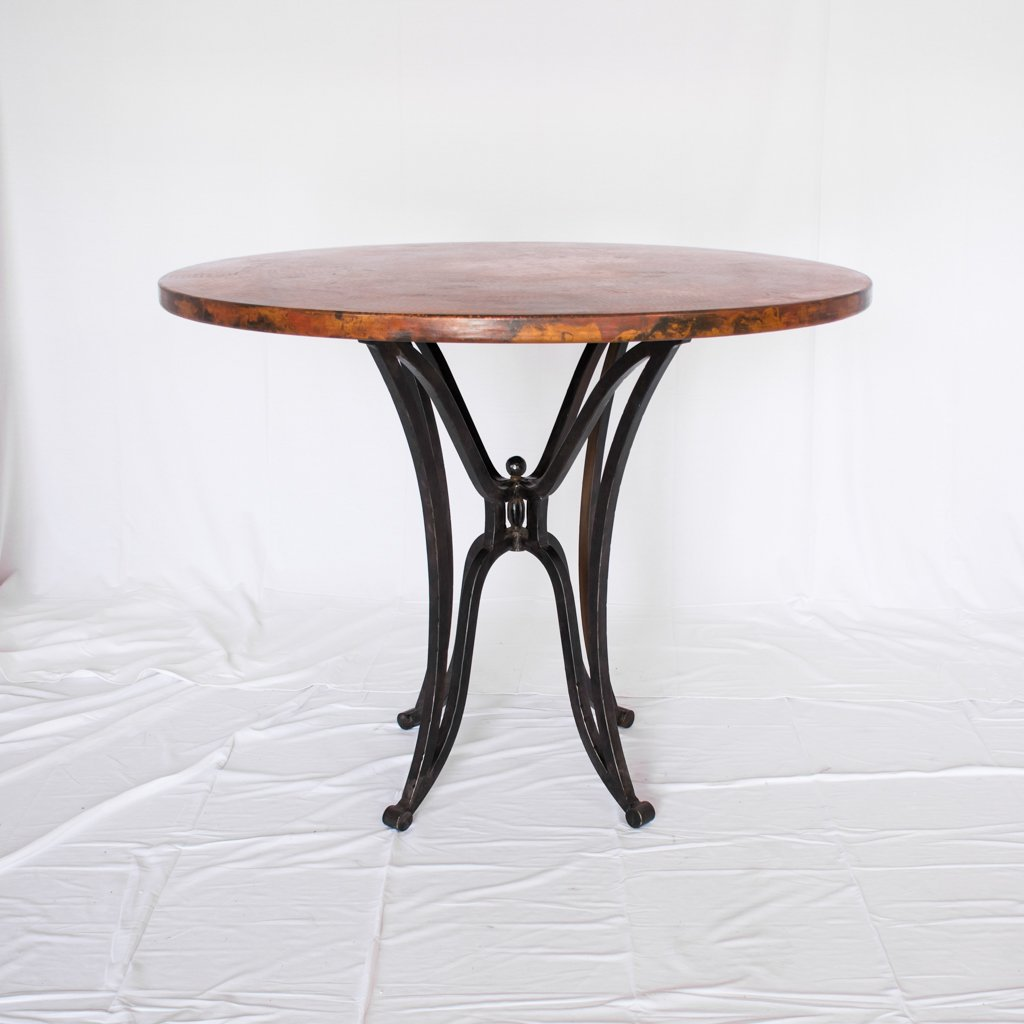 Canyon Copper Top Counter Table
