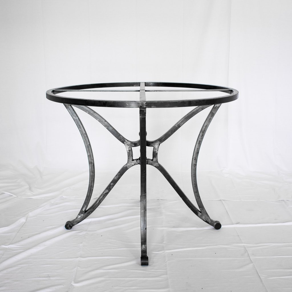 Canyon Iron and Zinc Dining Table