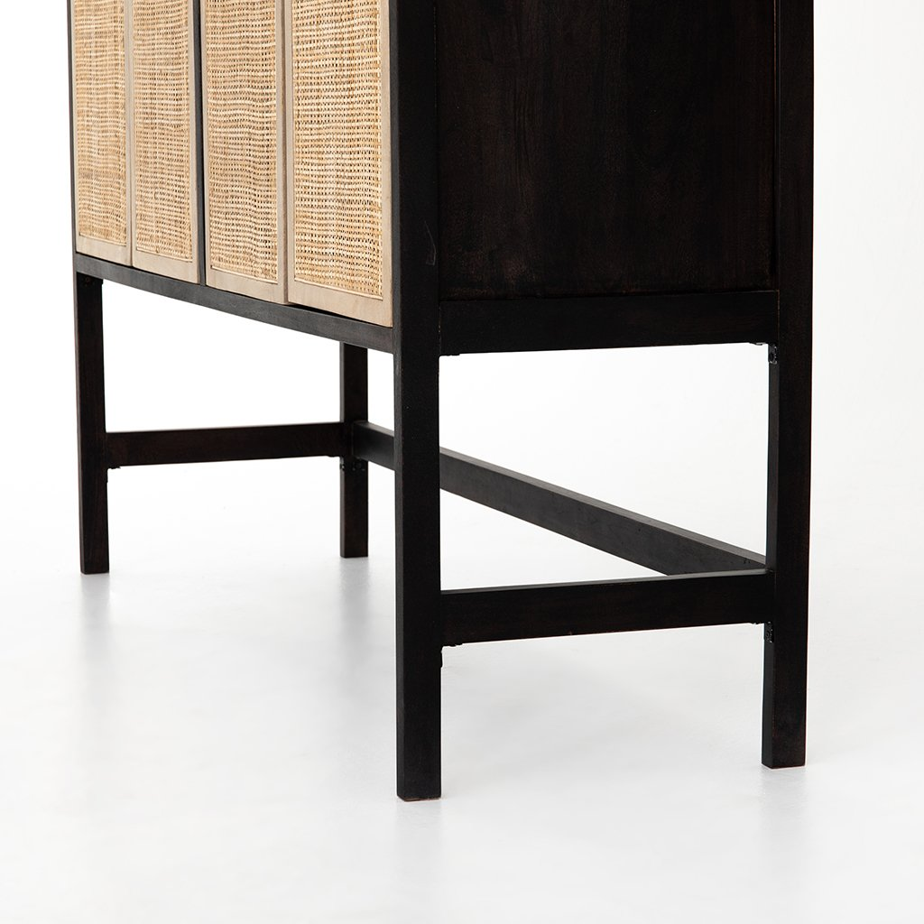 Caprice Cane Weave Cabinet Four Hands IPRS-026