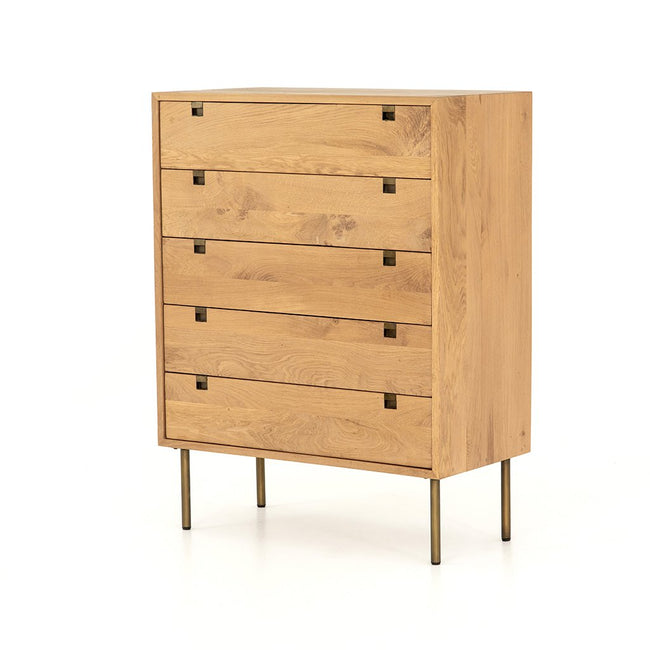 Carlisle 5 Drawer Oak Dresser Four Hands IFAL-029