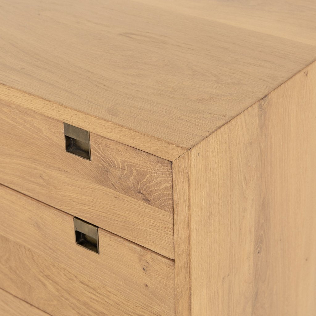 Carlisle 6 Drawer Oak Dresser