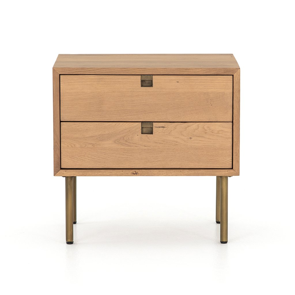 Carlisle Oak Nighstand Four Hands Furniture