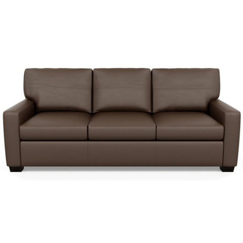 Kaden Three Seat Leather Sofa