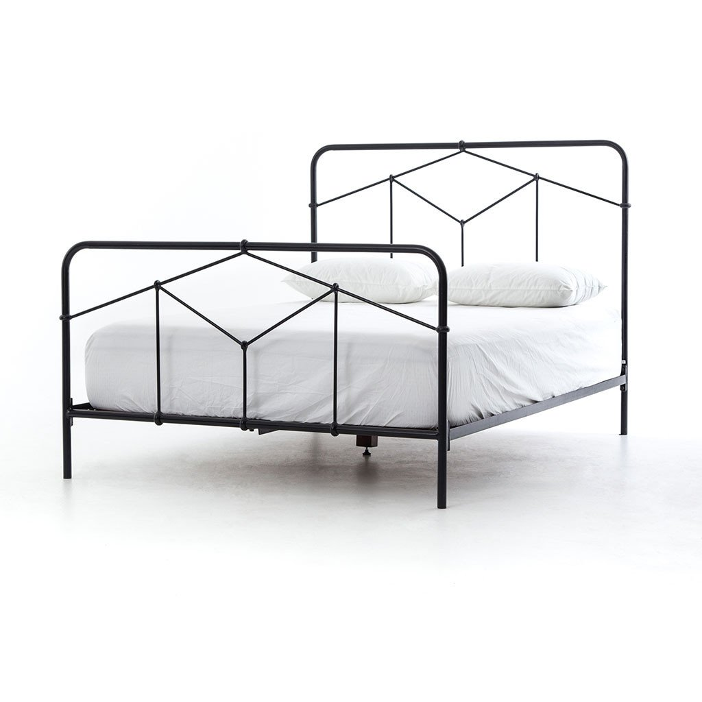Casey iron bed frame