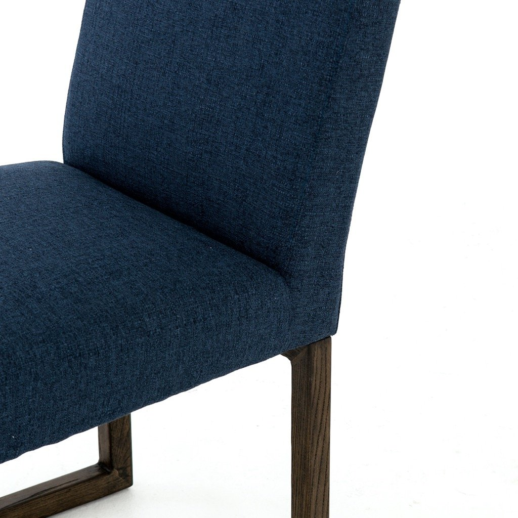 Chase Dining Chair - Indigo High Back Seating Detail