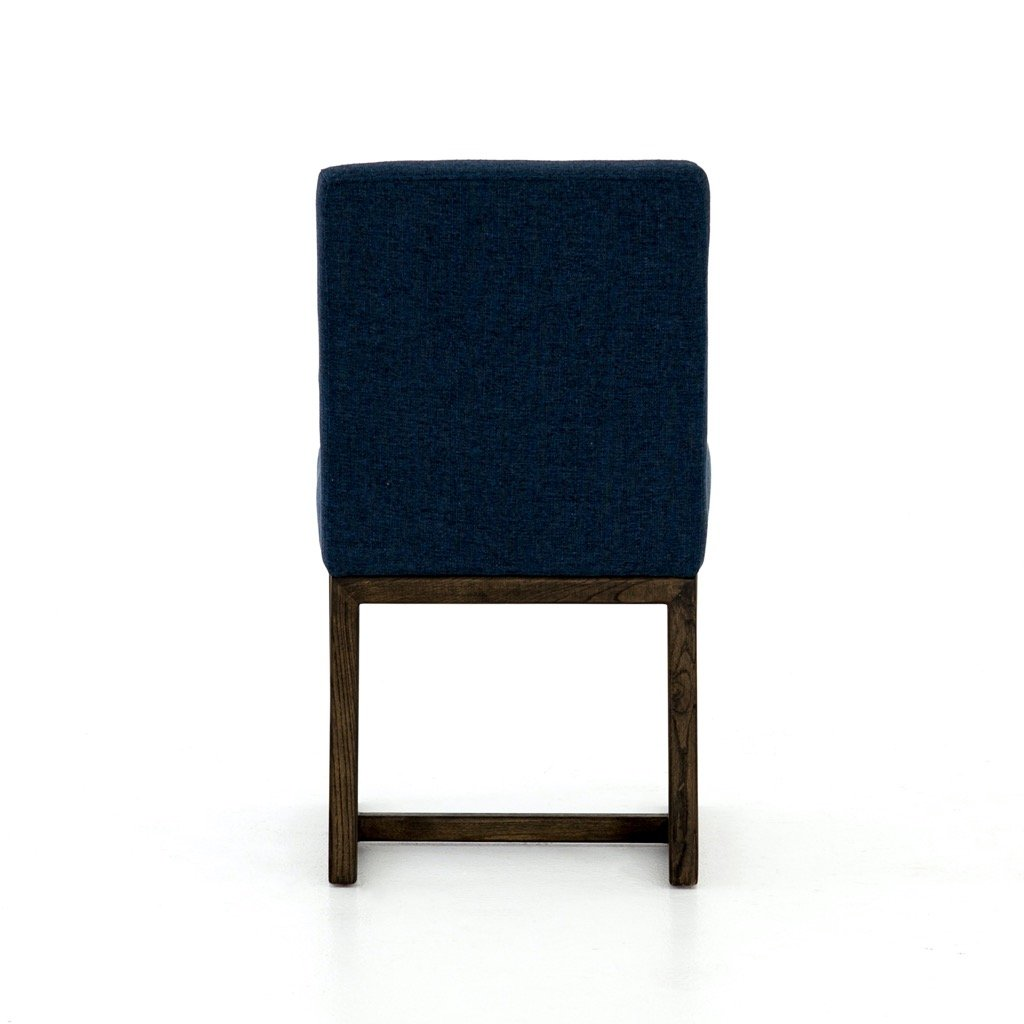 Chase Dining Chair - Indigo Back View
