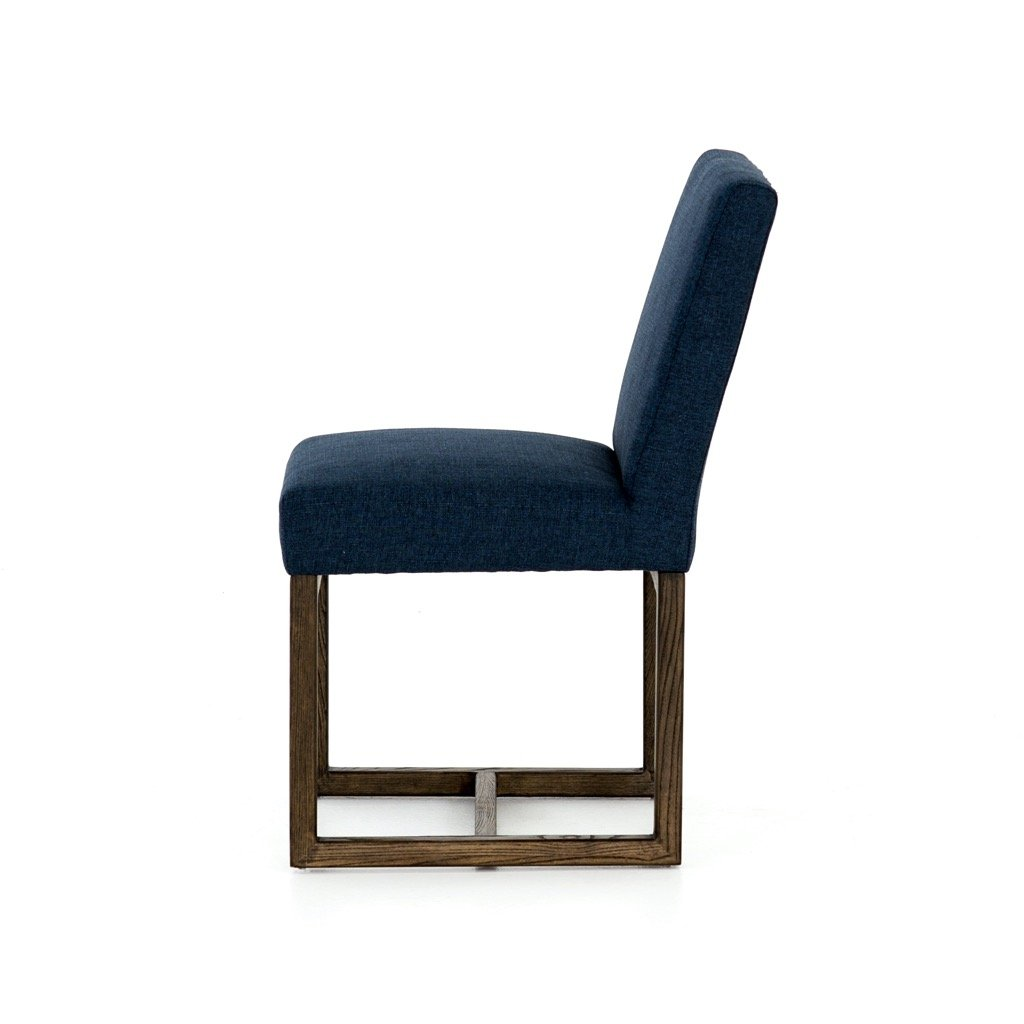 Chase Dining Chair - Indigo Side View
