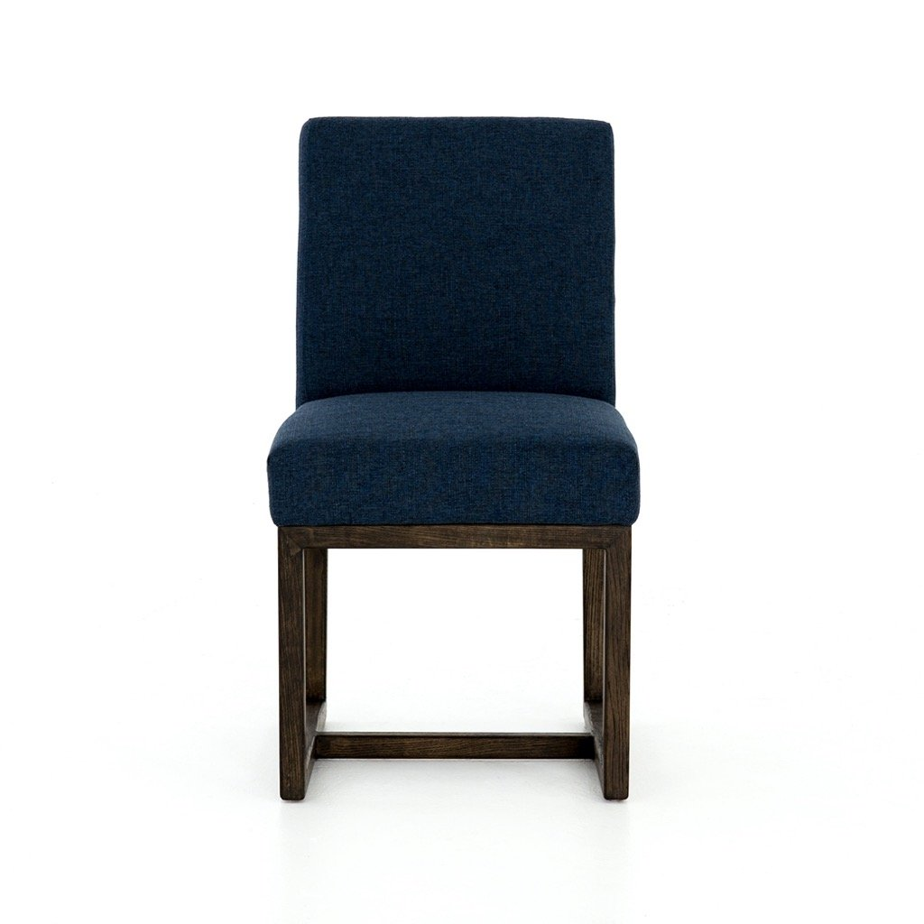 Chase Dining Chair - Indigo Front View