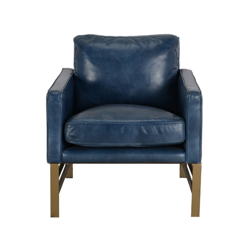 Buy Chazzie Blue Club Chair at Artesanos Design Collection