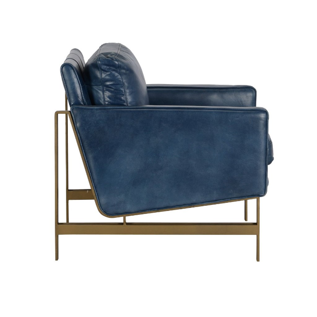 Chazzie Blue Club Chair 53003980