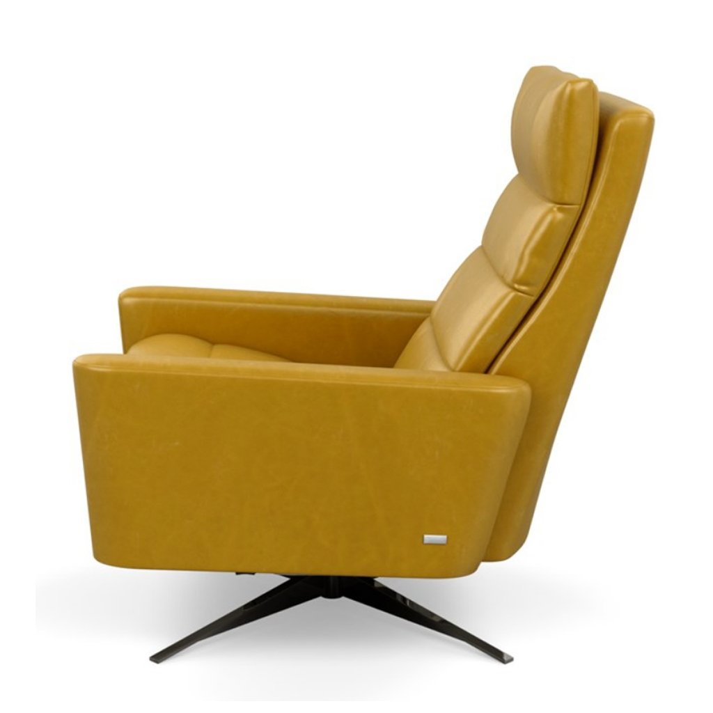 Yellow leather Cirrus Comfort Air Recliner