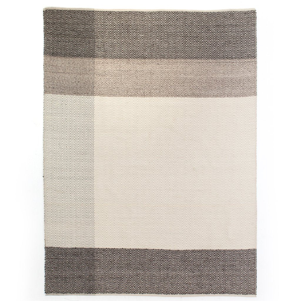 Color Block Chevron Rug INOM-007-0912