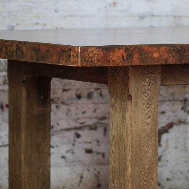 McElmo Copper Top Gathering Table