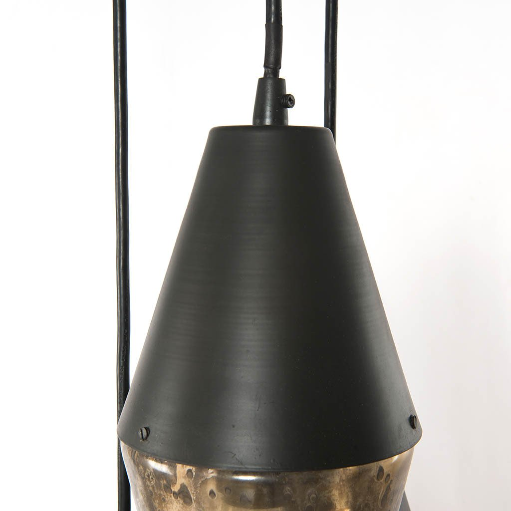 Four Hands Cora Pendant Light - Antiqued Iron IHTN-001