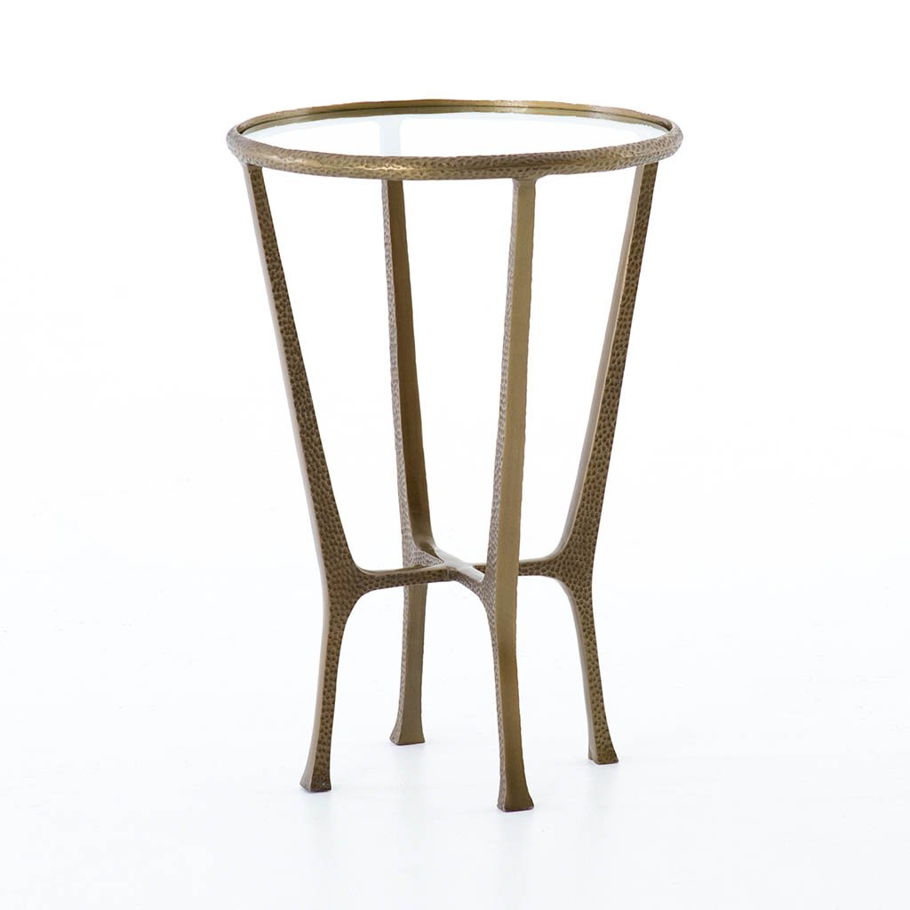 Creighton End Table Brass IASR-076