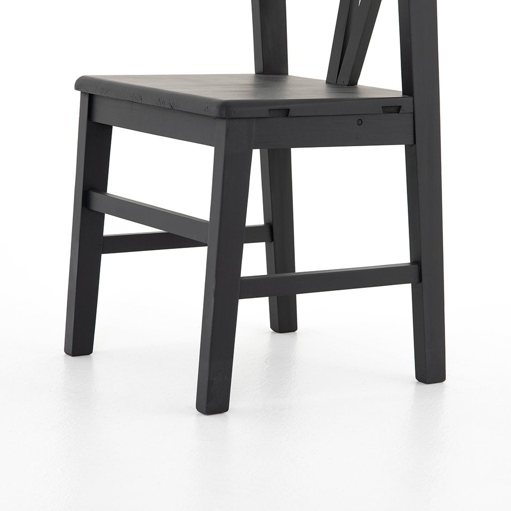 Seat ViewDaisy Black Dining Chair