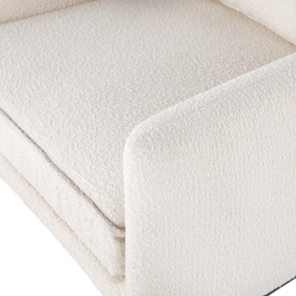 Delaney Chair - Altro Snow Detail