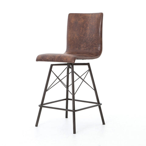 Portofino Bar & Counter Stool - Antique Ebony