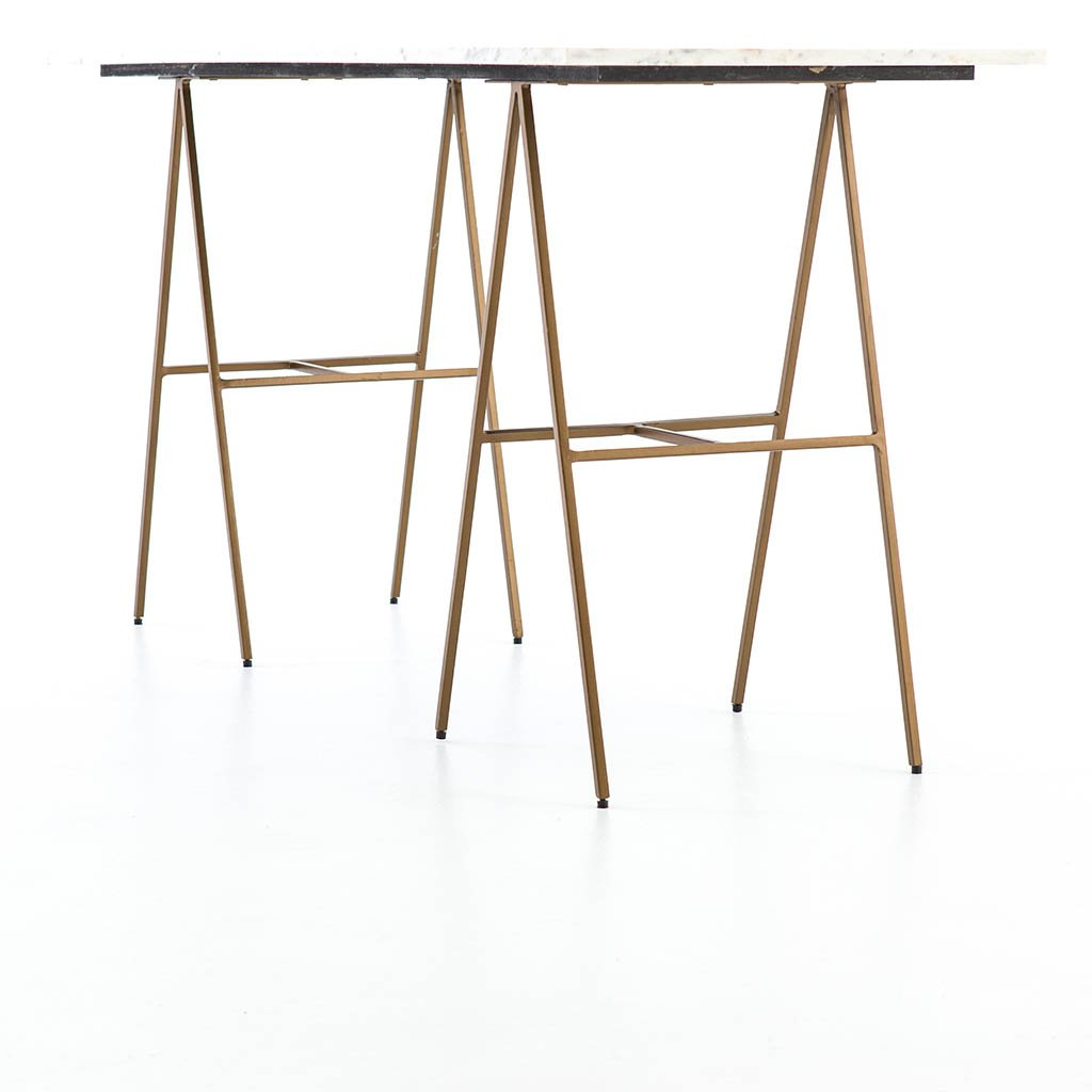 brass leg Eden Desk
