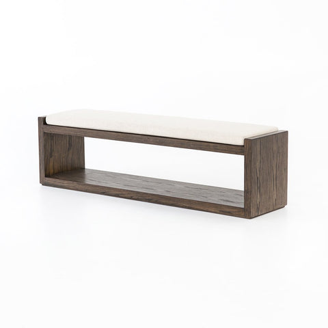 Sled Bench - Thames Cream