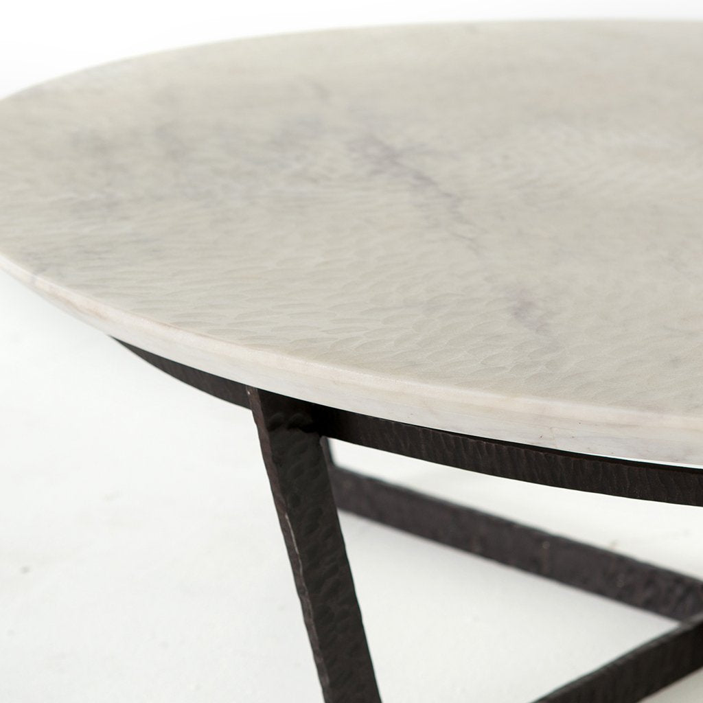 Felix Round Marble Coffee Table