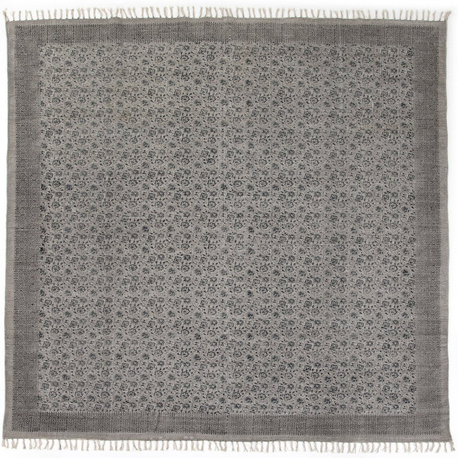 Flatweave Faded Print Rug Four Hands