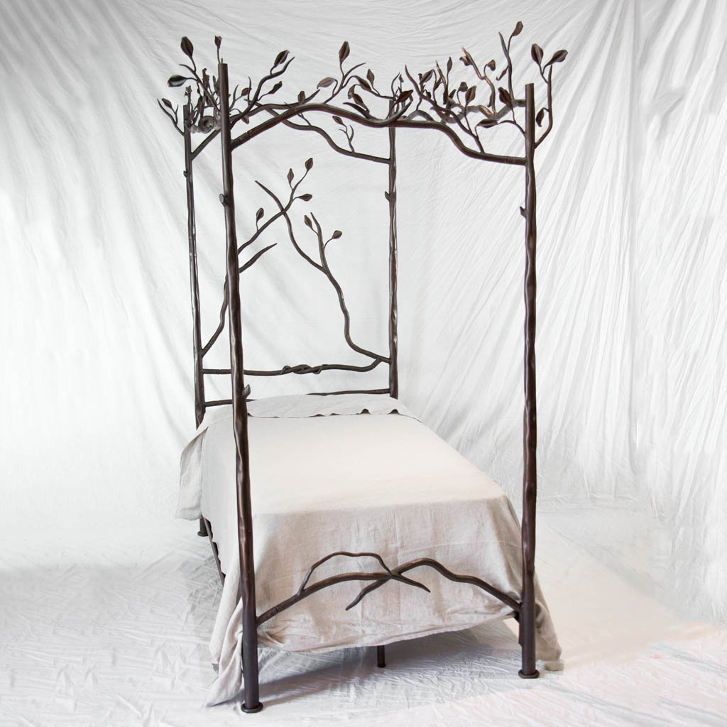 Picture of: Forest Canopy Iron Bed