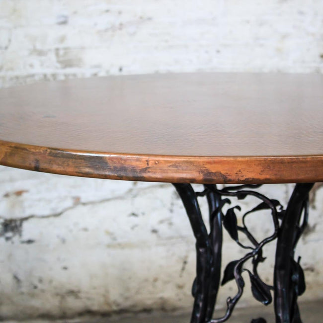 Copper Top Forest Dining Table